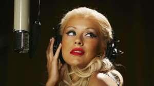 Christina-Aguilera-Recording
